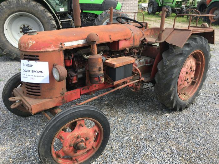 david brown 25d, oldtimer tractor, david brown tractor, tractor david brown